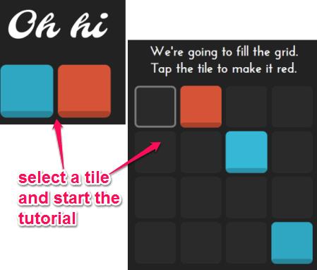start game tutorial