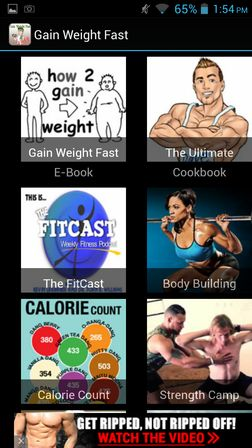 weight gain apps for Android 3