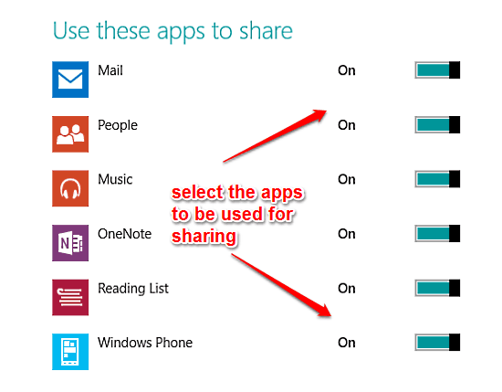 windows 10 app sharing