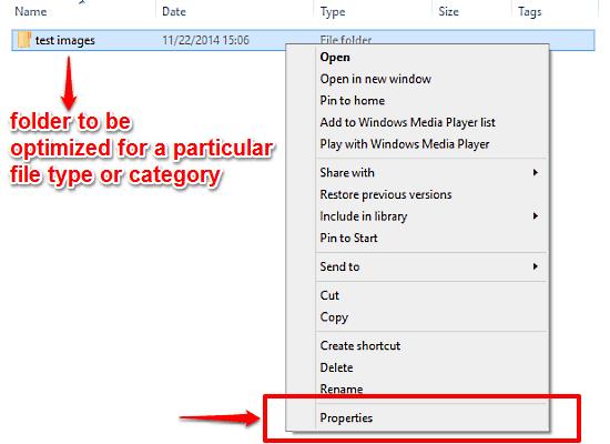 windows 10 folder properties