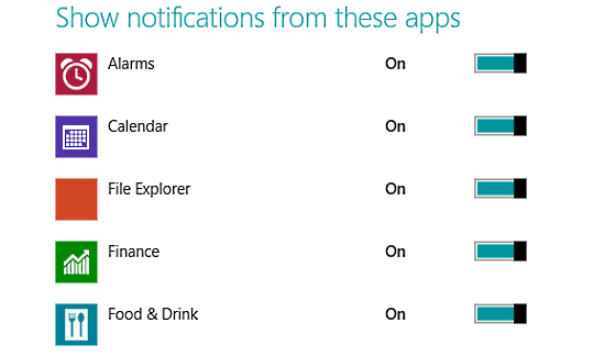 windows 10 individual app notifications