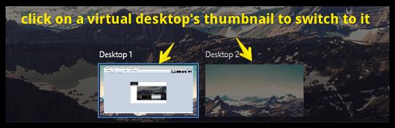 windows 10 switch virtual desktops