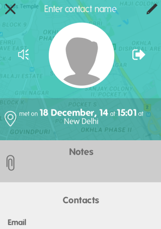 Add Notes for Contacts