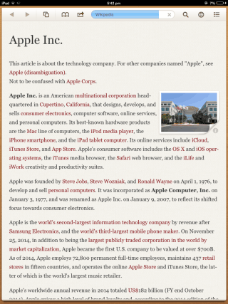 Articles Read View