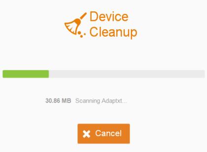 Cleaner Scanning