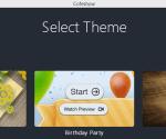 Cofeshow- free slideshow maker