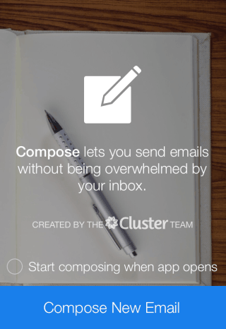 Compose Welcome Screen