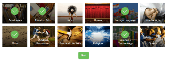Create Kids Profile