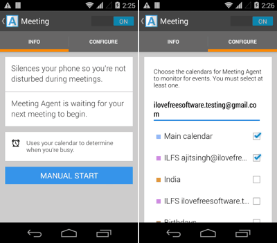 Meeting - Agent for Android