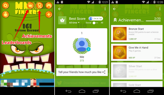 Mmm for Android - Play Games Integration