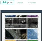 PlaidPrint- create photo mosaic
