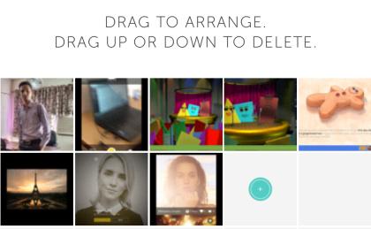 Re-arrange or Delete Photos