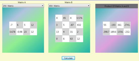 Solution of Matrix