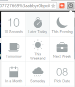 Tab Snooze- hide opened tabs and auto launch those tabs