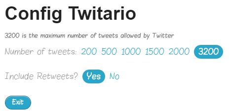 configure Twitario