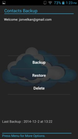 contact backup apps android 2