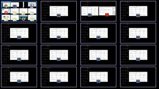 create up to 64 virtual desktops
