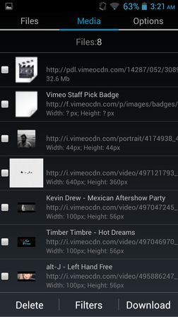 dailymotion vimeo video downloader apps Android 3