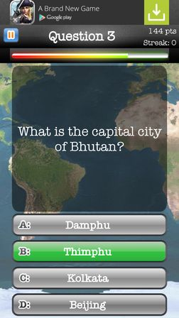 geography quiz apps Android 2