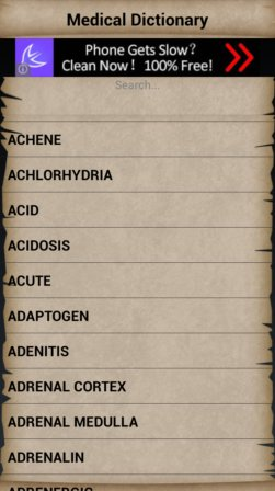 medical dictionary apps android 5