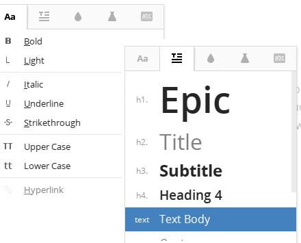 right click context menu options