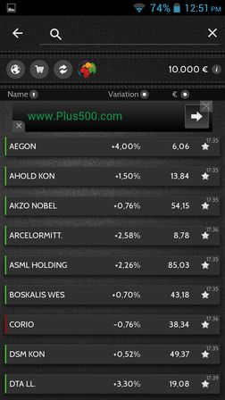 virtual stock market apps Android 4