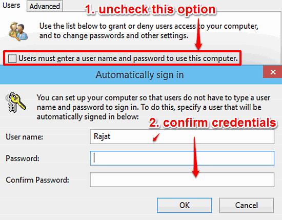 windows 10 confirm user credentials