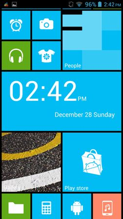 windows 8 launcher apps Android 1