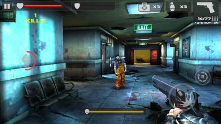 zombie games Android 4