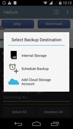 Backup Method