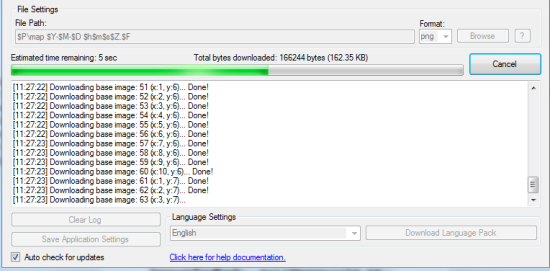 Downloading in Progress