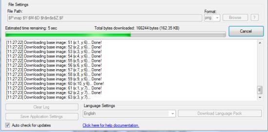 Downloading in Progress
