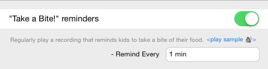 Enable Reminder