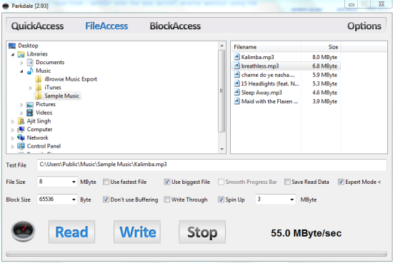 FileAccess Interface