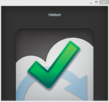 Helium Backup PC Client