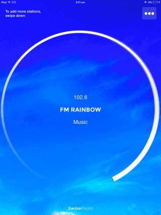 Listening to Radio Station