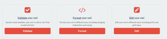 Online XML Editor