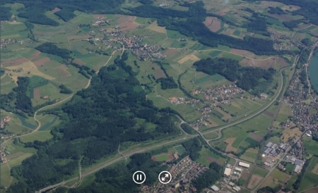 view panoramic images