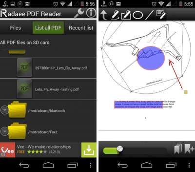 Radaee for Android
