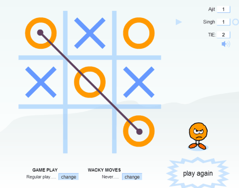 tic tac toe online 2 player free
