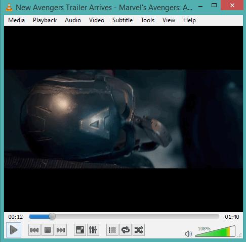 VLC Media Player- interface