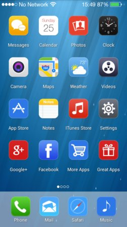 ios 8 launcher apps android 4