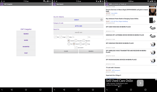 CNT Craigslist for Android
