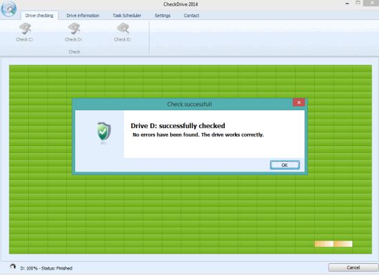 CheckDrive- interface