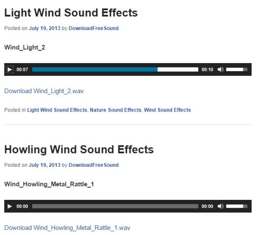 Download Free Sound