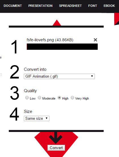 Files-conversion