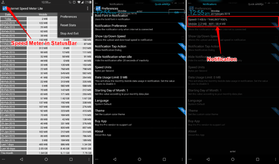 Internet Speed Meter Lite for Android