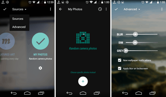 Muzei for Android