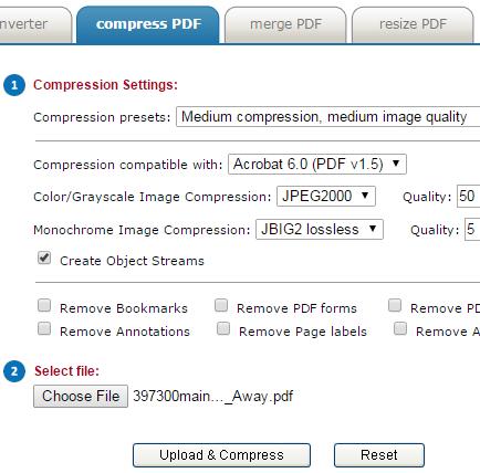 Neevia Online PDFcompress