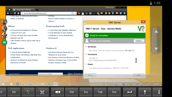 VNC Viewer for Android
